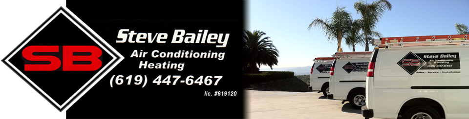 Steve bailey air conditioning banner